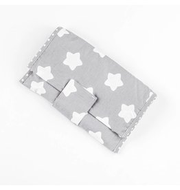 "Nappy Pouch ""Stars grey"""