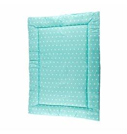 """Changing mat """"Little dots/ stars mint green"""""""
