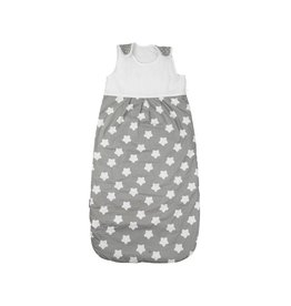 "Baby sleeping bag ""stars grey"""