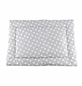 "Play mat ""stars grey/ little dots"""