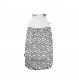 "Baby sleeping bag ""clouds grey"""