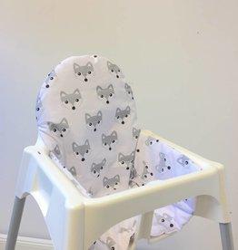 """Sitzkissen """"Füchse"""" für Ikea Antilop und Blames Hochstuhl"""