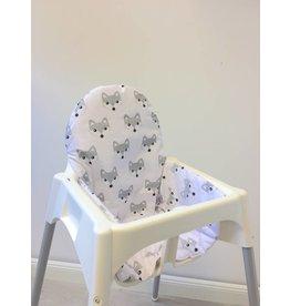 """Coussin """"Renards"""" pour chaise haute Antilop de IKEA"""