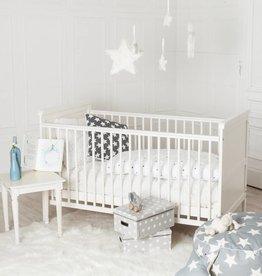 """Ausstellungsstück Puckdaddy Babybett """"weiß"""", auch zum Kinderbett umbaubar"""