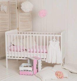 """Ausstellungsstück Babybett """"Wolke"""" - 140 x70 cm weiß"""