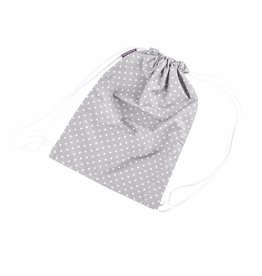 "Drawstring Bag ""Dots Grey"""