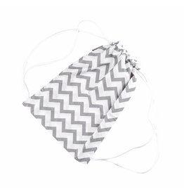 "Drawstring Bag ""Chevron"""