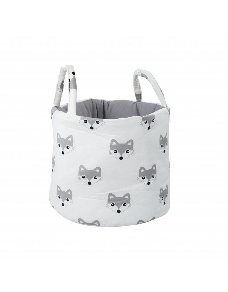 "Nursery Storage Basket ""Foxes"""