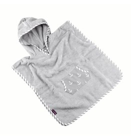 """Hooded Towel Poncho """"Anchor"""""""