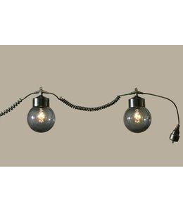 Professionele Verhuur / Tent Verlichting (HKH Lighting) Kettinglamp Zwart