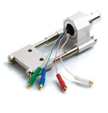 Clearaudio Headshell mit SME-Anschluss, inkl. Kabel