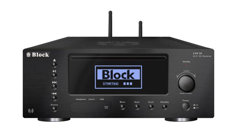 Block Audio CVR-50 CD-Internet-Receiver