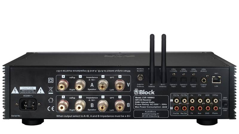 Block Audio CVR-100+ MKII CD-Internet-Receiver