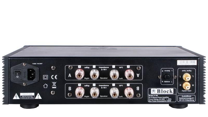 Block Audio A-100 Endstufe