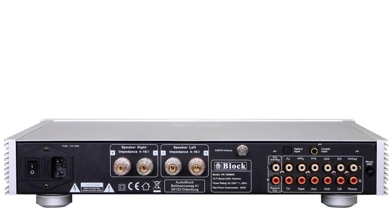 Block Audio VR-100+ MKII Receiver mit DAB+