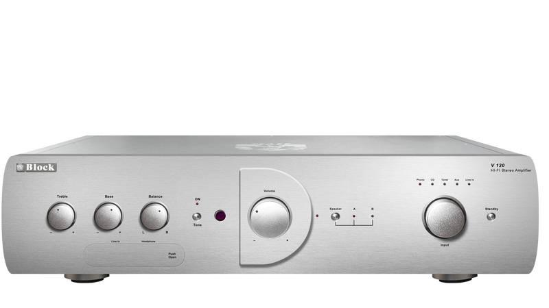 Block Audio V-120 Vollverstärker
