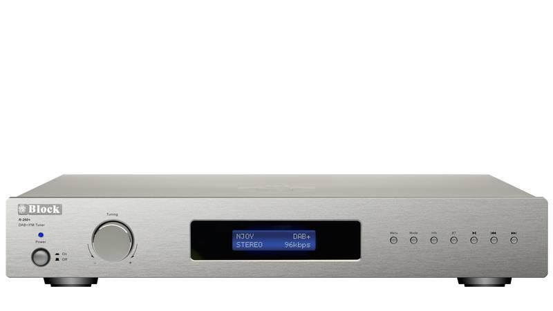 Block Audio R-250+ RDS Radio mit DAB+