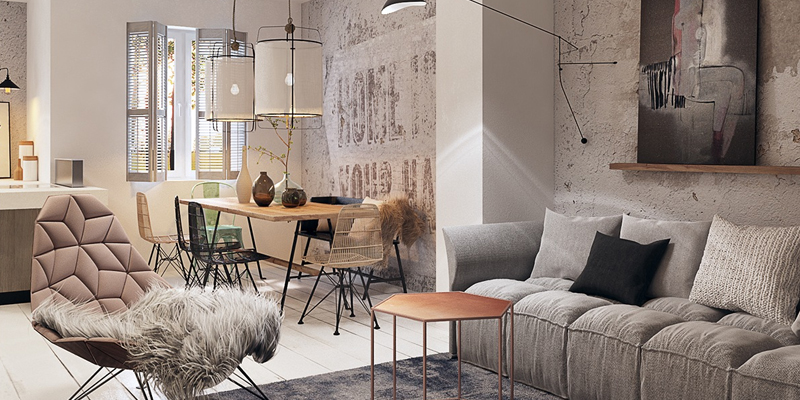 Interieurtrend: Raw & Chic - City Interiors