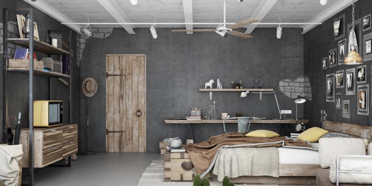 8 tips, foto\'s & inspiratie voor het inrichten je slaapkamer! - City ...