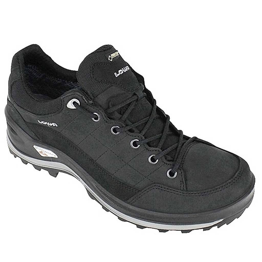 Lowa Renégat Chaussures De Marche De Glace Gtx Pour Les Hommes - Noir - 44,5 Eu