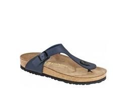 Birkenstock Gizeh Narrow Blue Slippers Dames