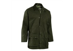 Hunter Bolton Padded Green Waxjas Heren