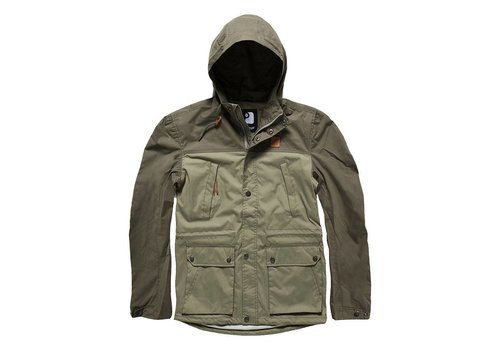 Vintage Industries Leap Jacket Olive Light Olive Zomerjas Uniseks