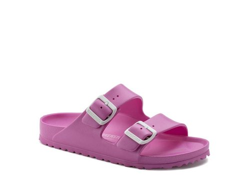 Birkenstock Arizona EVA Neon Pink Slippers Dames