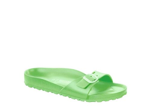 Birkenstock Madrid EVA Neon Green Slippers Dames