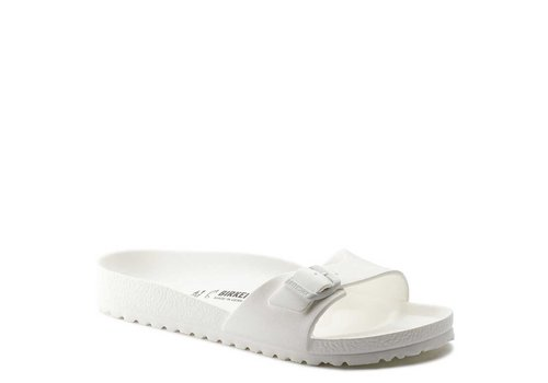 Birkenstock Madrid EVA Wit Slippers Dames