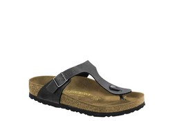 Birkenstock Gizeh Pull UP Antraciet Slippers Dames