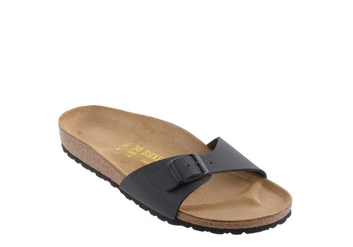 Birkenstock Madrid Black Slippers Heren
