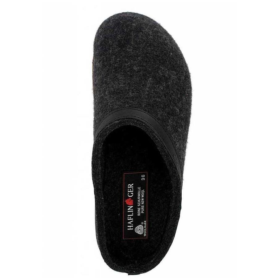 Grizzly Torben Graphit Pantoffels Uniseks