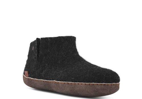 Birkenstock Green Comfort Zwart Grijs Pantoffels Dames