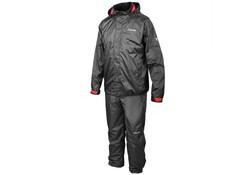 Gamakatsu Ripstop Ademend Rain Suit Zwart Regenpakken Uniseks