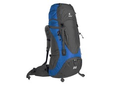 Deuter Act zero 55 + 10 Granite/Ocean Rugzak