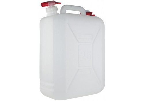 Yellowstone Jerry Can 25 Liter Met Kraan