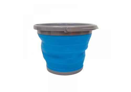 Yellowstone 10 Liter Blauw Opvouwbare Emmer