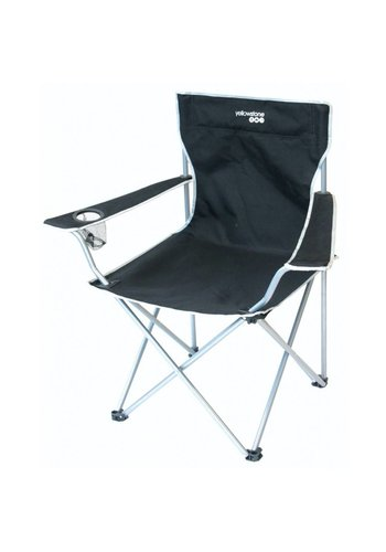 Yellowstone FT007 Executive Camping Chair Black Kampeerstoel
