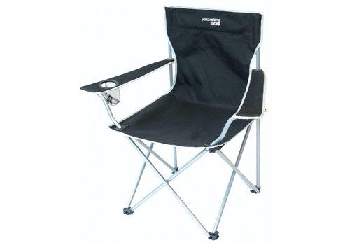 Yellowstone FT007 Executive Camping Chair Black Kampeerstoel
