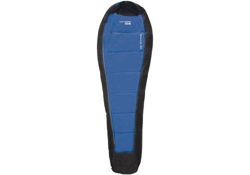 Yellowstone Ultra-Lite 150 Blauw Zwart Mummy Slaapzak
