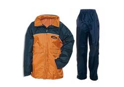 Anuy Luton Marine/Oranje Regenpakken Kids