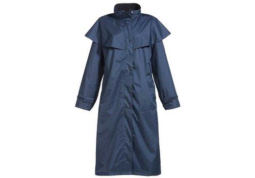 MGO Leisure Wear Long Barclay Jacket Navy Regenjas Uniseks