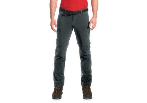 Maier Sports Torid Pants Zip-Off Kort Grijs Outdoorbroek Heren