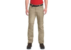 Maier Sports Tajo 2 Pants Zip-Off Kort Khaki Outdoorbroek Heren