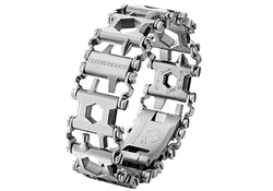 Leatherman Tread Stainless Metrisch Zilver Multitool Armband