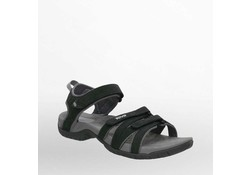 Teva Tirra Leather Black Sandalen Dames