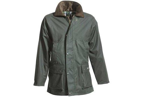 MGO Leisure Wear Basic Waxjas Groen Uniseks