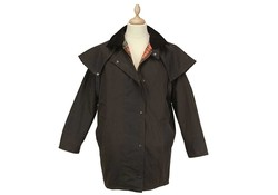 MGO Leisure Wear Wax Dundee Jacket Brown Waxjas Uniseks