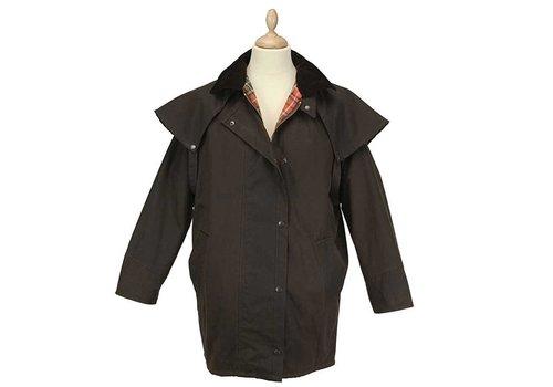 MGO Leisure Wear Wax Dundee Jacket Brown Waxjas Uniseks